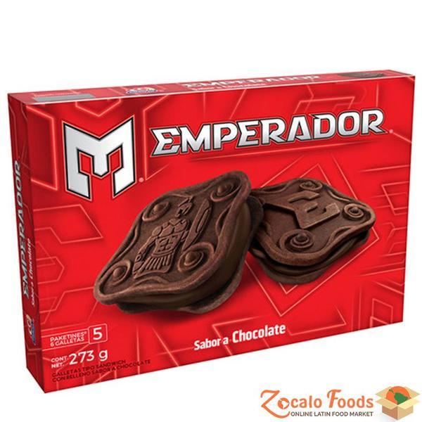 Galletas emperador chocolate
